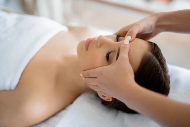 masaje para la cara
